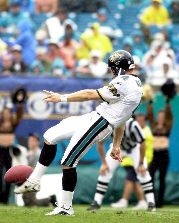 Bryan Barker. Punter Bryan Barker of the Jacksonville Jaguars in game action againist the Cincinnati Bengals royalty free stock photography