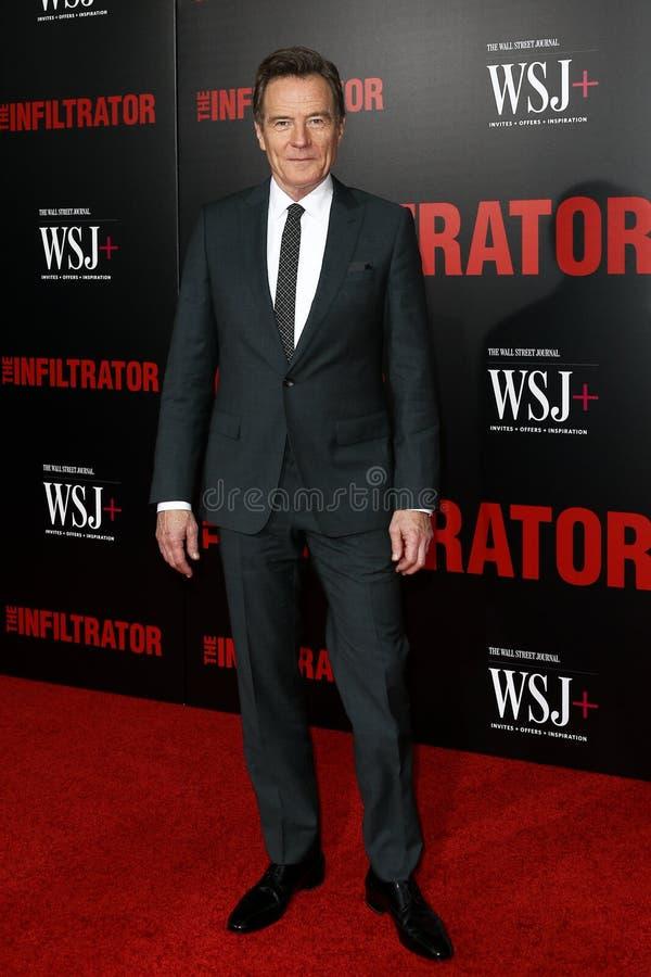 Bryan Cranston lizenzfreies stockfoto