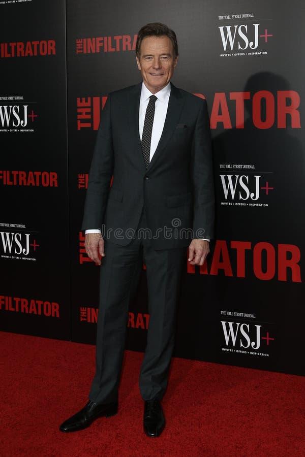 Bryan Cranston photo stock