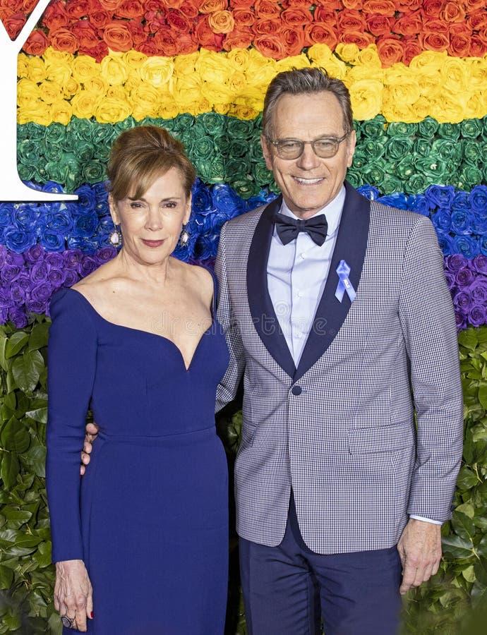 Bryan Cranston chez Tony Awards 2019 photo libre de droits
