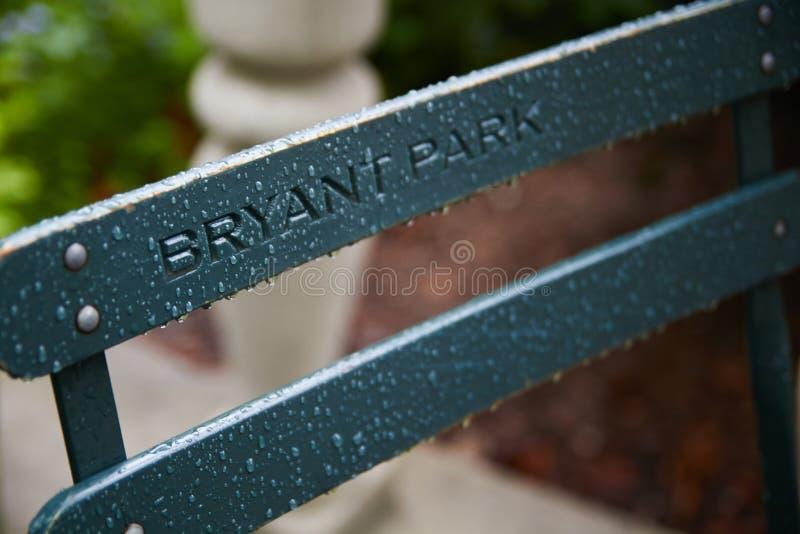 Bryant Park royalty-vrije stock fotografie
