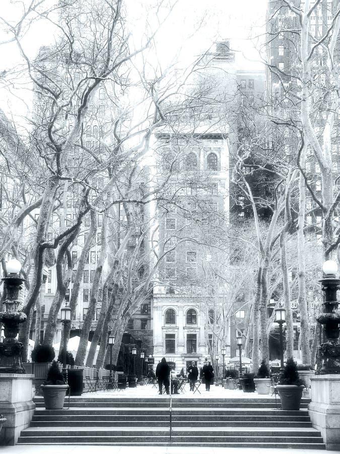 Bryant Park. New York royalty free stock photo