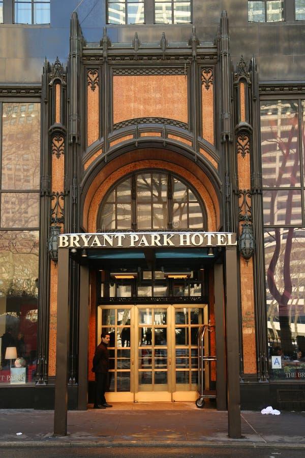 Bryant Park Hotel dans Midtown Manhattan images stock