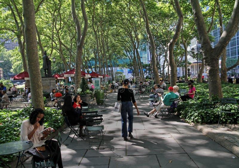 Bryant Park, Manhattan photo libre de droits