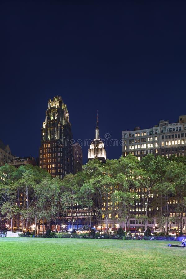 Bryant Park, Manhattan, New York photo stock