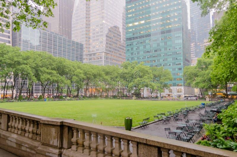Bryant Park, New York City imagen de archivo libre de regalías