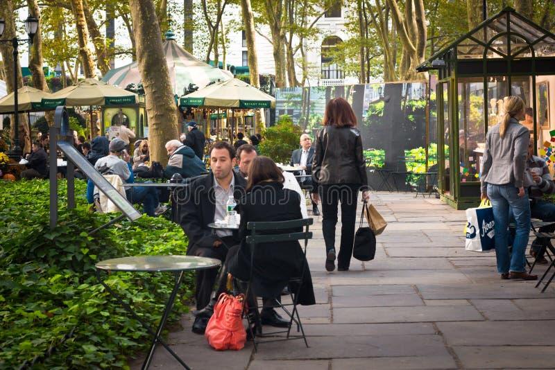 Bryant Park NYC images libres de droits