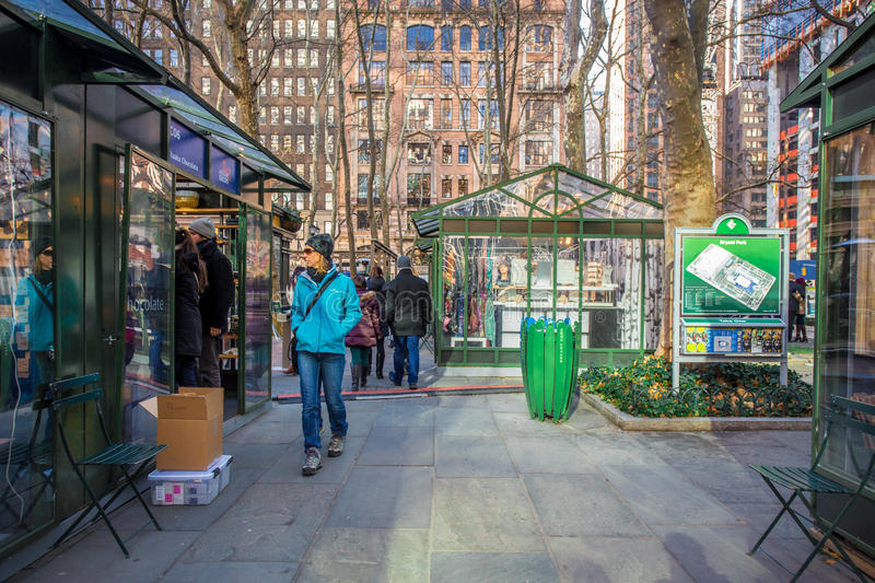 Bryant Park NYC photo stock