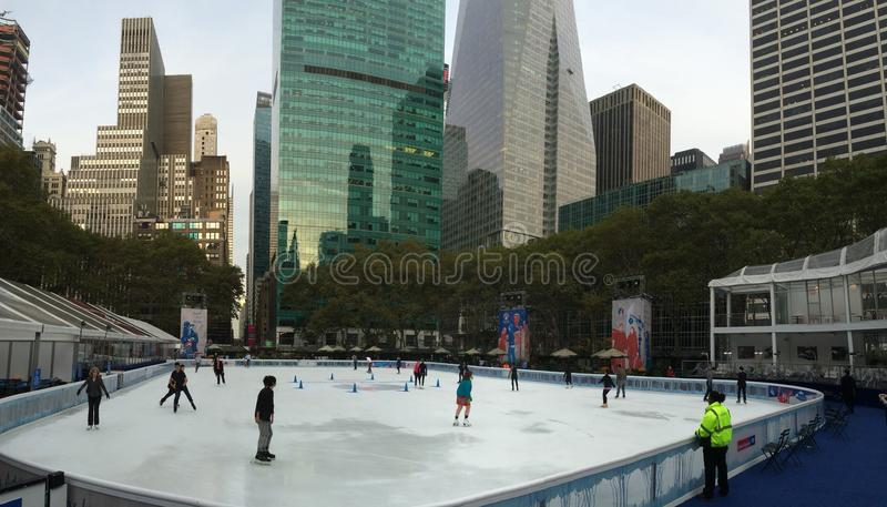 Bryant Park, NYC image stock