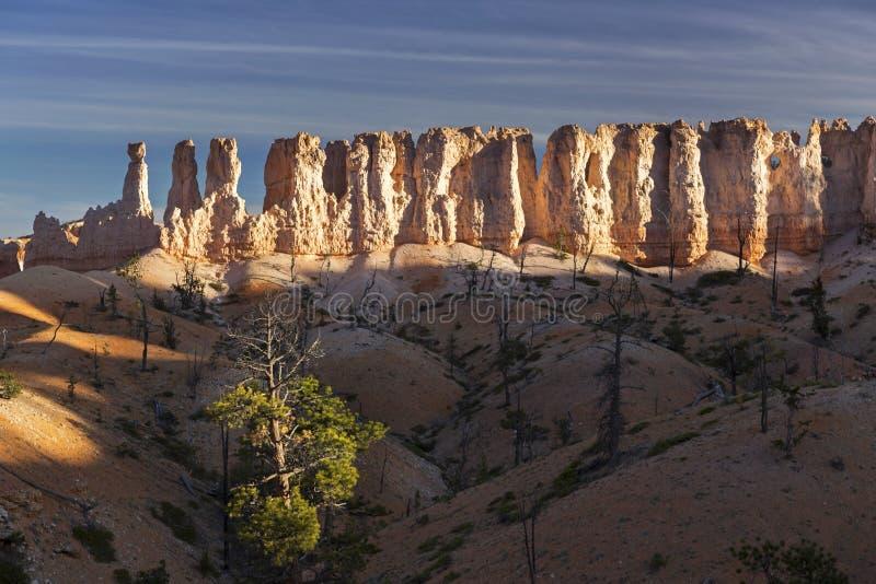 bryce εθνικός βράχος πάρκων σχη στοκ φωτογραφία με δικαίωμα ελεύθερης χρήσης