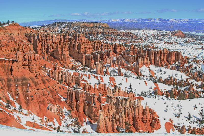 bryce φαράγγι Utah στοκ εικόνες