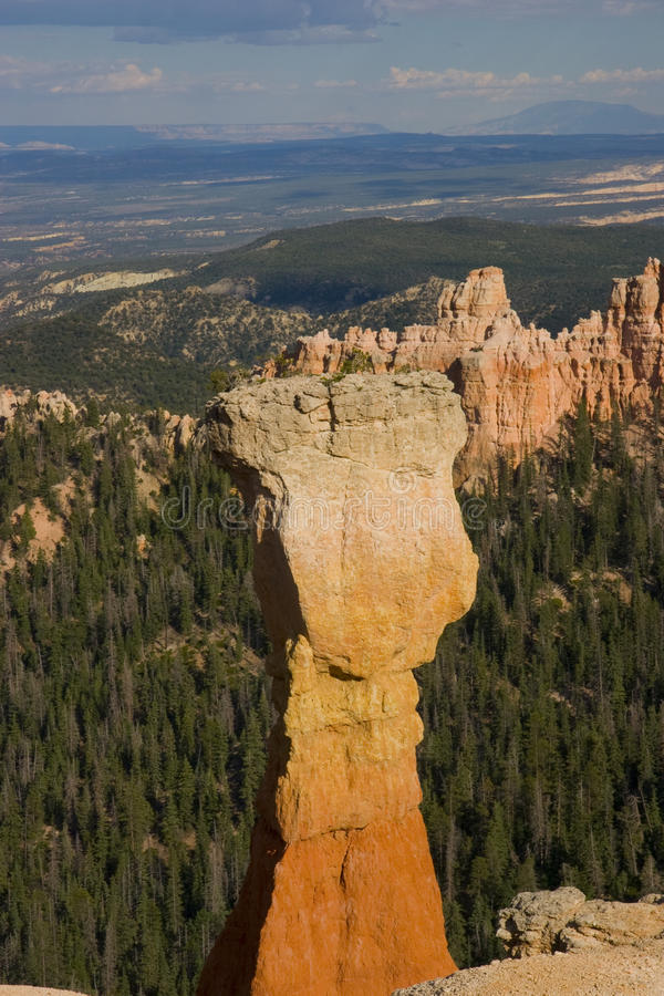 Bryce Canyon. View of the Bryce Canyon National Park - Utah royalty free stock image