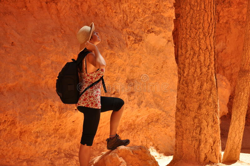 Download Bryce Canyon stock image. Image of lady, utah, tourist - 27077917
