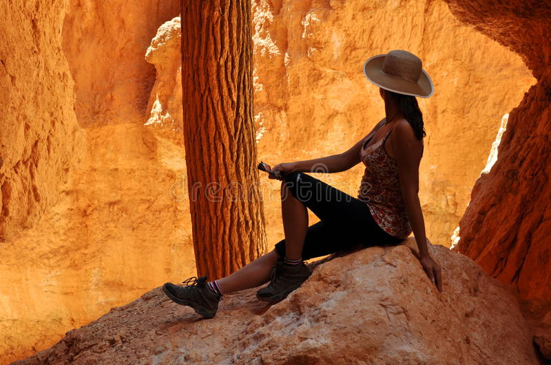 Download Bryce Canyon stock image. Image of landscape, trail, scenery - 27077925