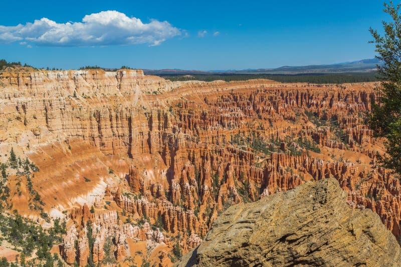 Bryce Canyon-amfitheater royalty-vrije stock foto's
