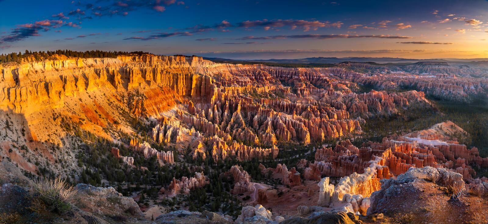 Bryce Canyon Early Morning royalty-vrije stock fotografie