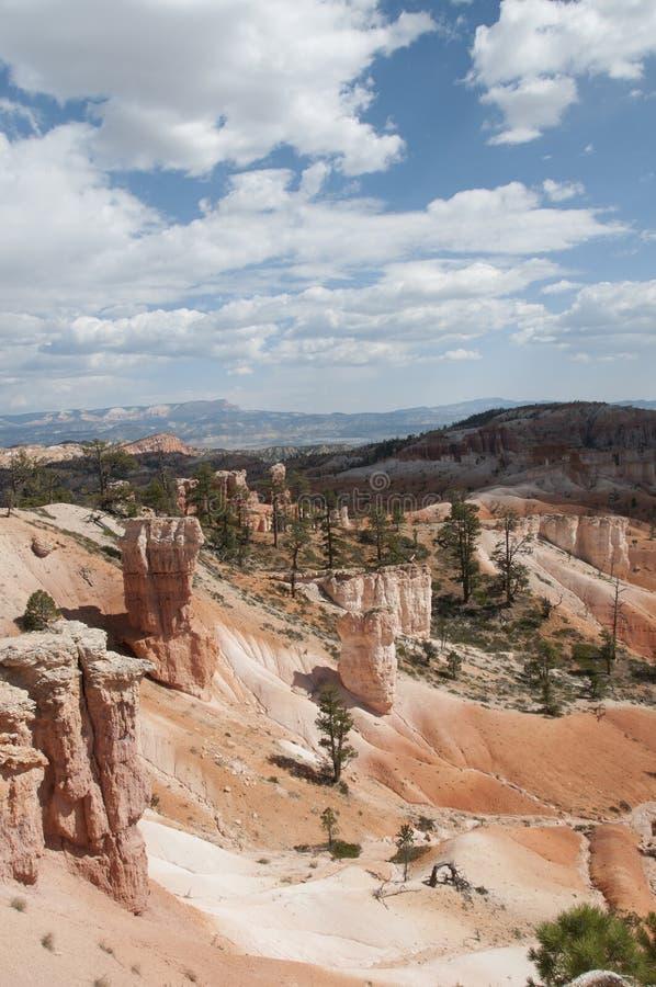 Bryce Canyon Hoodoos Desert Landscape lizenzfreie stockfotos