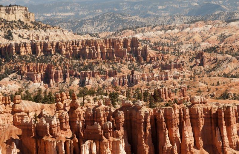 Bryce Canyon Hoodoos Mountain Landscape royalty-vrije stock fotografie