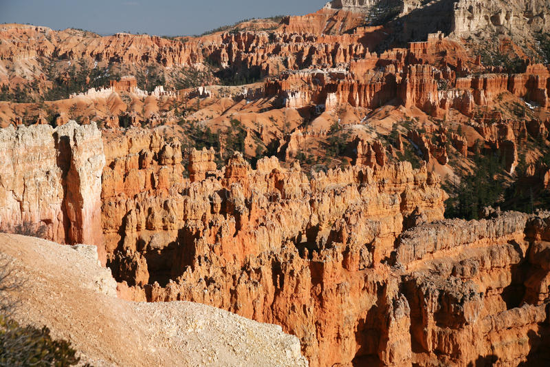 Bryce Canyon Hoodoos, Utah royalty-vrije stock foto