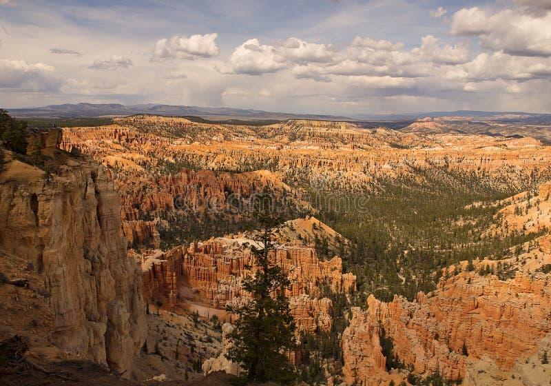 Bryce Canyon Millions von Jahren in der Herstellung stockbilder