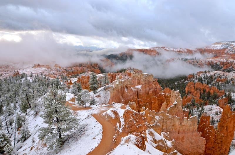 Bryce Canyon National Park, EUA fotografia de stock