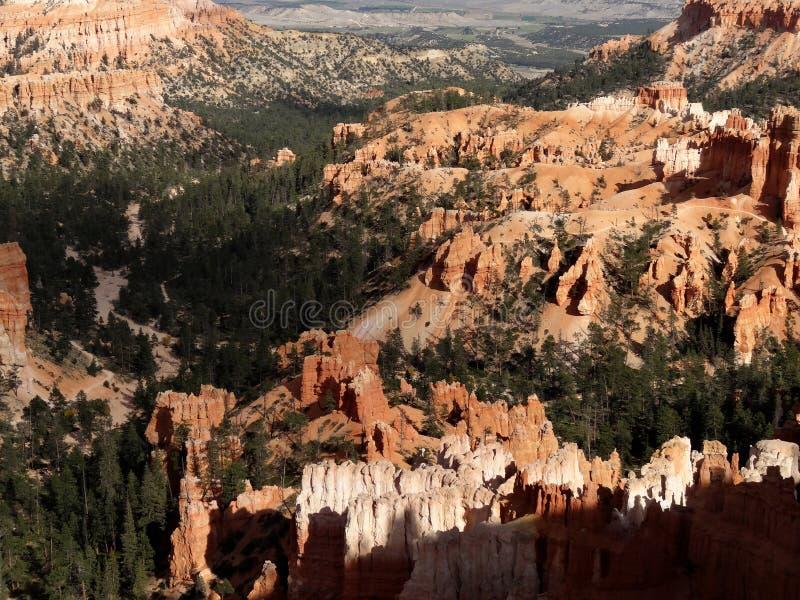 Bryce Canyon National Park i hösten royaltyfri foto