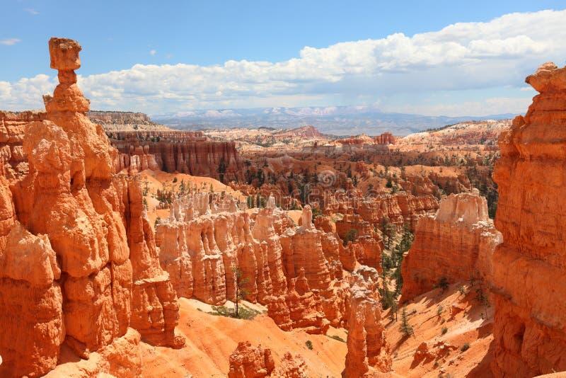 Bryce Canyon National Park landskap, Utah, USA fotografering för bildbyråer