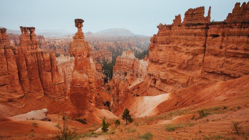 Bryce Canyon National Park: Martelo de Thor's foto de stock royalty free