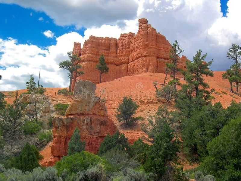 Bryce Canyon National Park, Utá, U S A fotografia de stock