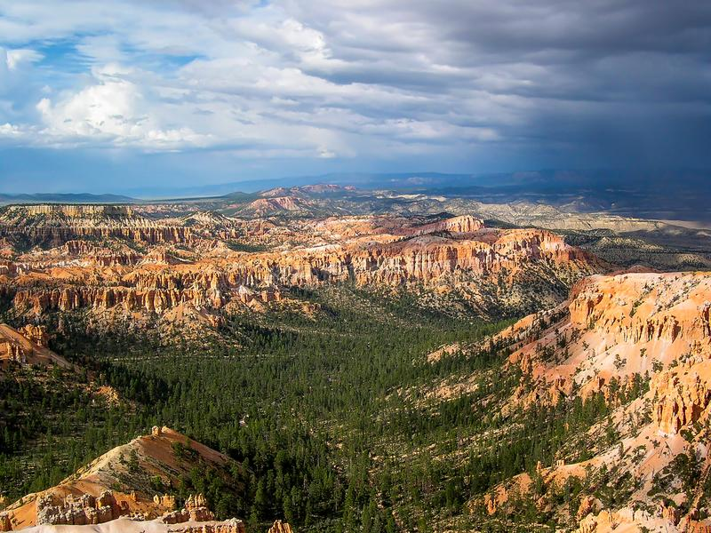 Bryce Canyon National Park, Utá, U S A foto de stock royalty free