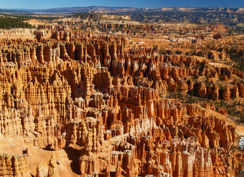 The Bryce Canyon National Park, Utah stock photography