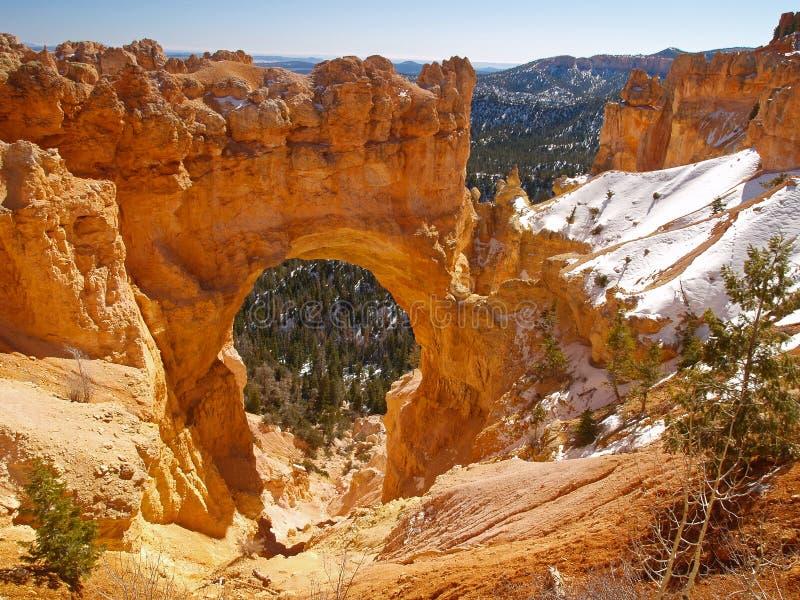 The Bryce Canyon National Park, Utah royalty free stock photo