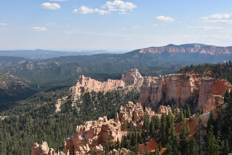 Bryce Canyon National Park in Utah. Fairview Point at Bryce Canyon National Park in Utah royalty free stock photo