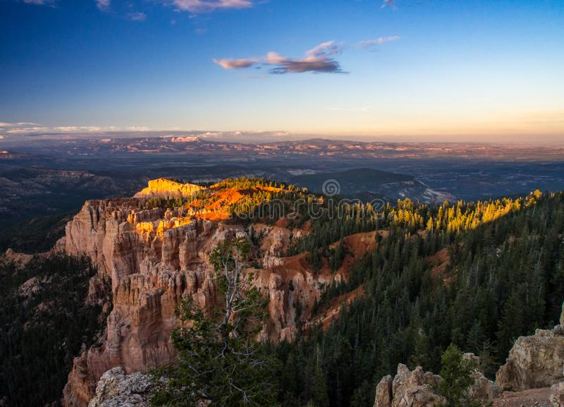 Bryce Canyon Overlook royalty-vrije stock foto