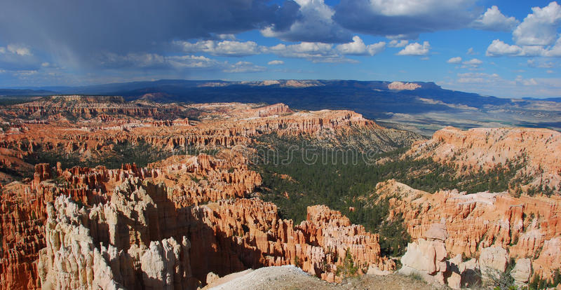 Download Bryce Canyon Panorama stock image. Image of outdoor, nazionale - 9799685