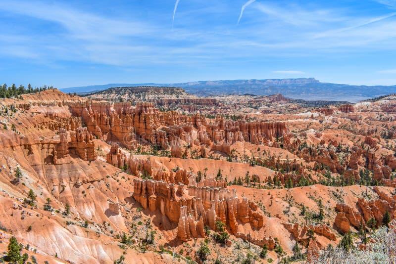 Bryce Canyon Park Rock Formations fotografia de stock