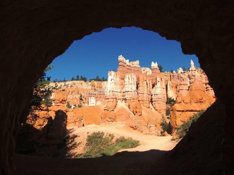 Bryce Canyon, porte-malheur images libres de droits