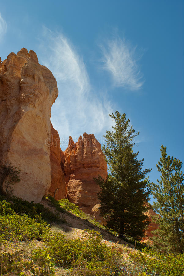 Free Bryce Canyon Rock Formations Royalty Free Stock Photo - 13407795
