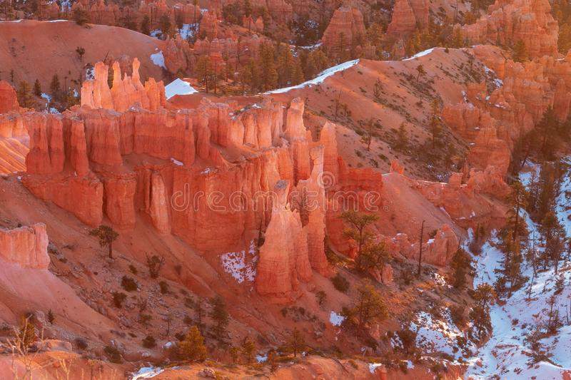 Bryce Canyon Scenic Landscape royalty free stock photography