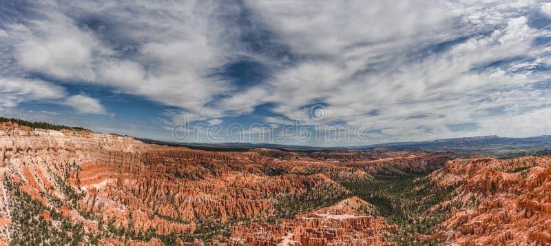 Bryce Canyon Scenic View lizenzfreies stockbild