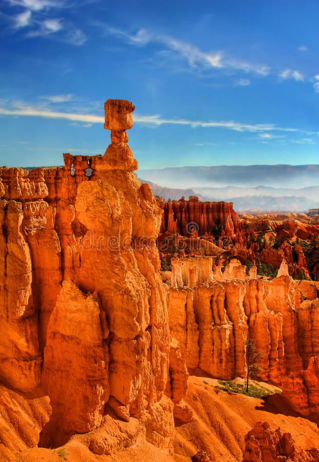 Bryce Canyon Spectacle royalty-vrije stock afbeelding