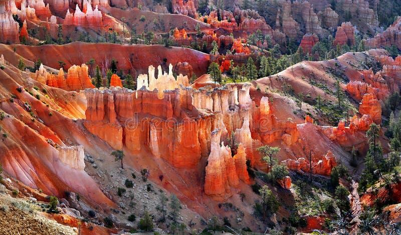 Bryce Canyon Sunrise Hoodoos Utah ΗΠΑ στοκ φωτογραφίες με δικαίωμα ελεύθερης χρήσης