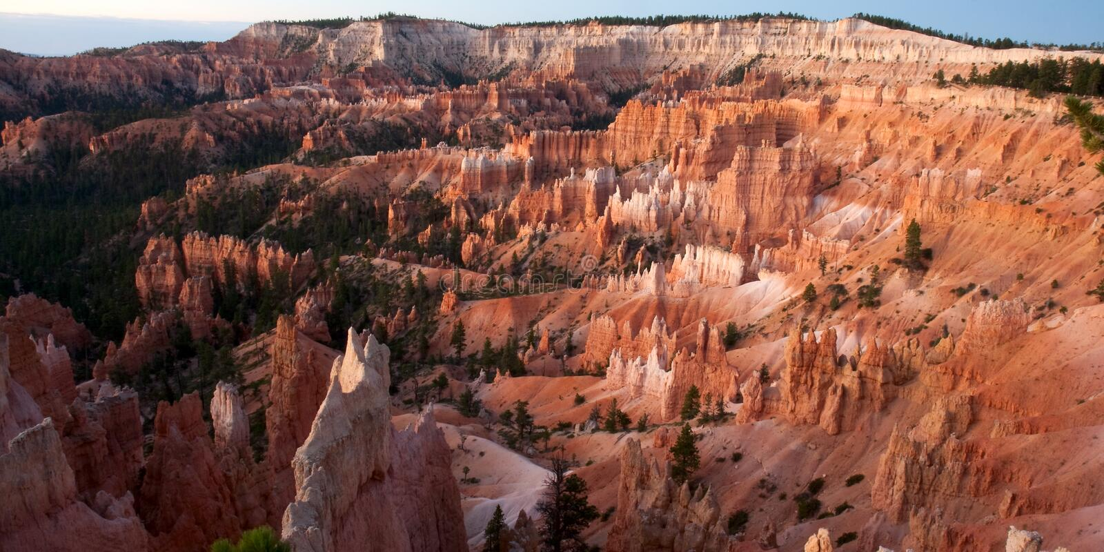 Bryce Canyon at Sunrise Point stock photography