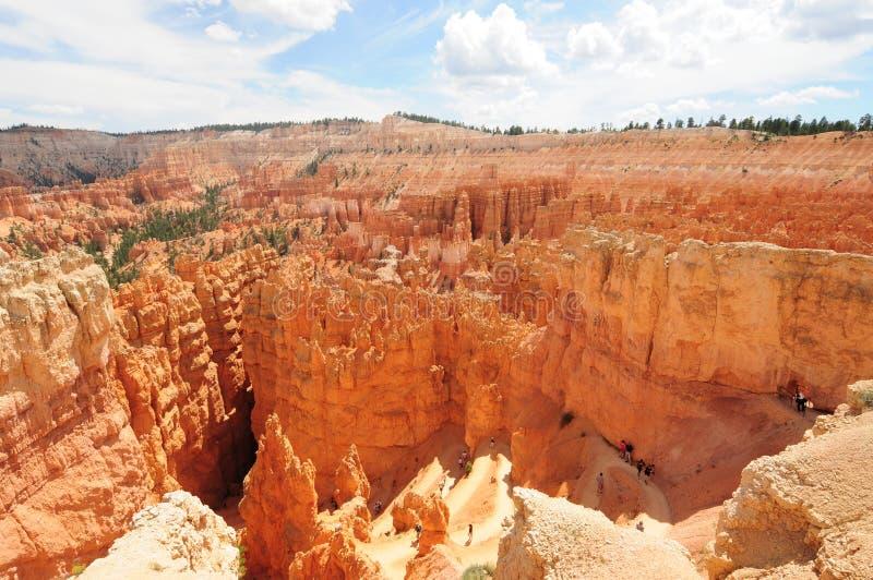 Bryce Canyon, Utah. The natural amphitheater at Bryce Canyon National Park, Utah royalty free stock image