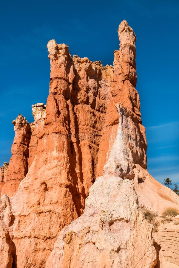 Bryce Canyon Utah Hoodoos royalty-vrije stock foto