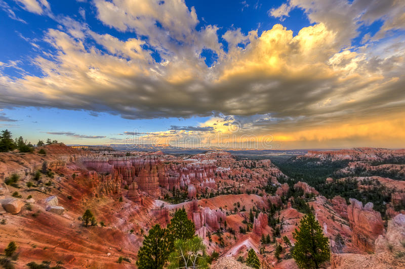 Download Bryce Canyon view stock image. Image of stone, view, national - 77078719