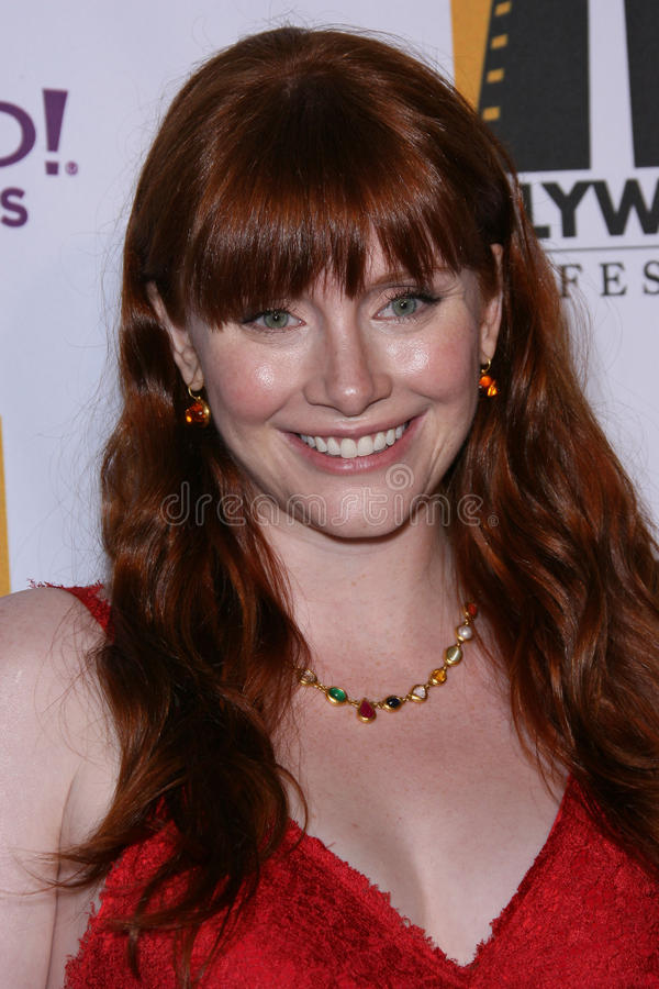 Bryce Dallas, Bryce Dallas Howard photos libres de droits
