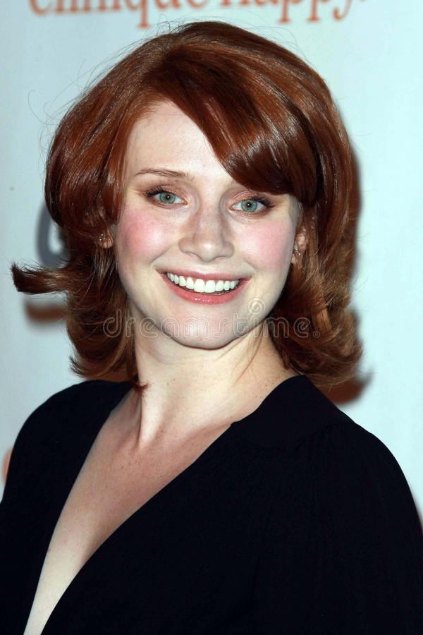 Bryce Dallas, Bryce Dallas Howard. Bryce Dallas Howard at the 2007 Glamour Reel Moments Party. Directors Guild Of America, Los Angeles, CA. 10-09-07 royalty free stock photos
