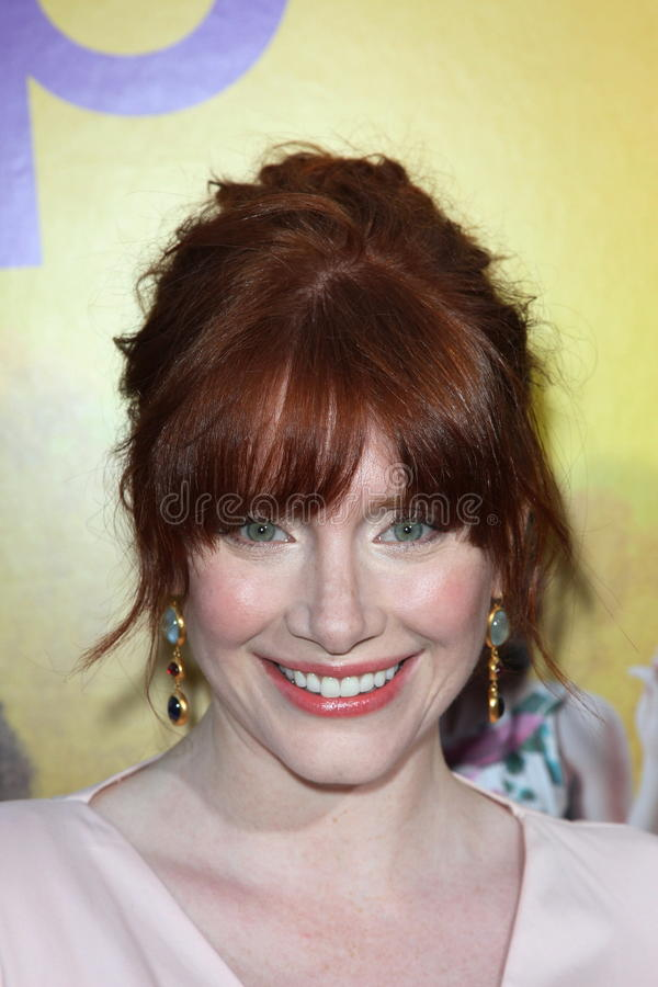 Bryce Dallas Howard. At 'The Help' Los Angeles Premiere, AMPAS Samuel Goldwyn Theater, Los Angeles, CA. 08-09-11 royalty free stock photo