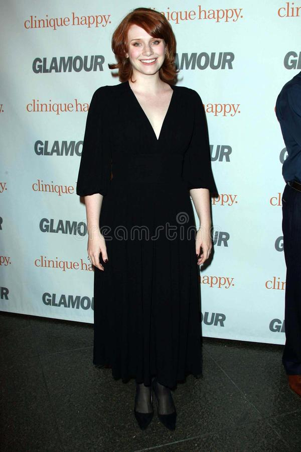 Bryce Dallas Howard. At the 2007 Glamour Reel Moments Party. Directors Guild Of America, Los Angeles, CA. 10-09-07 royalty free stock photography